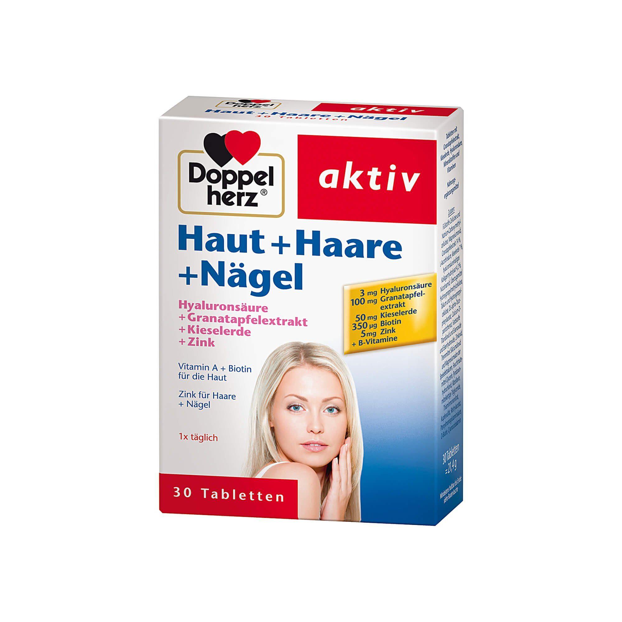 Doppelherz Haut+Haare+Nägel Tabletten, 30 St