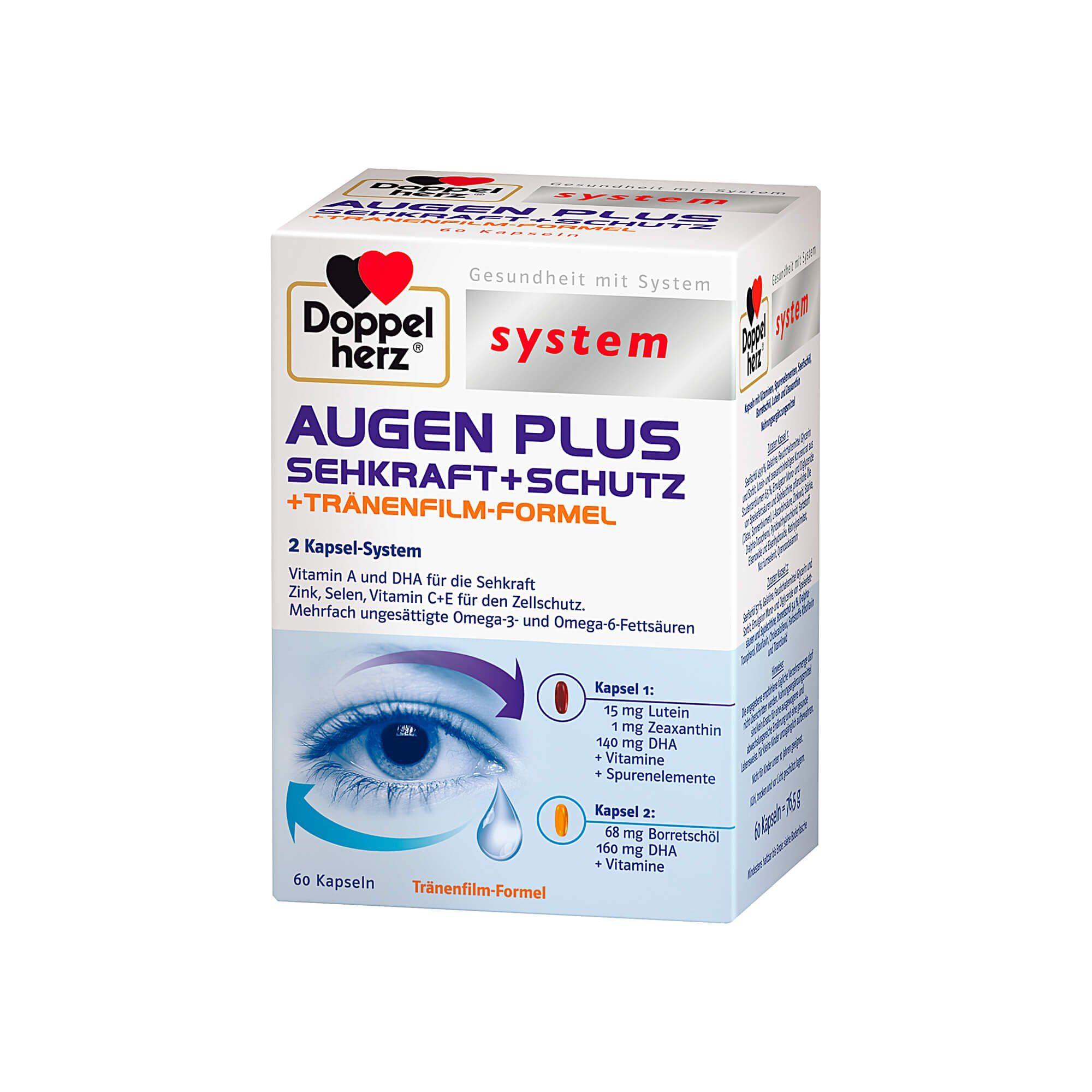 Doppelherz System Augen Plus system, 60 St