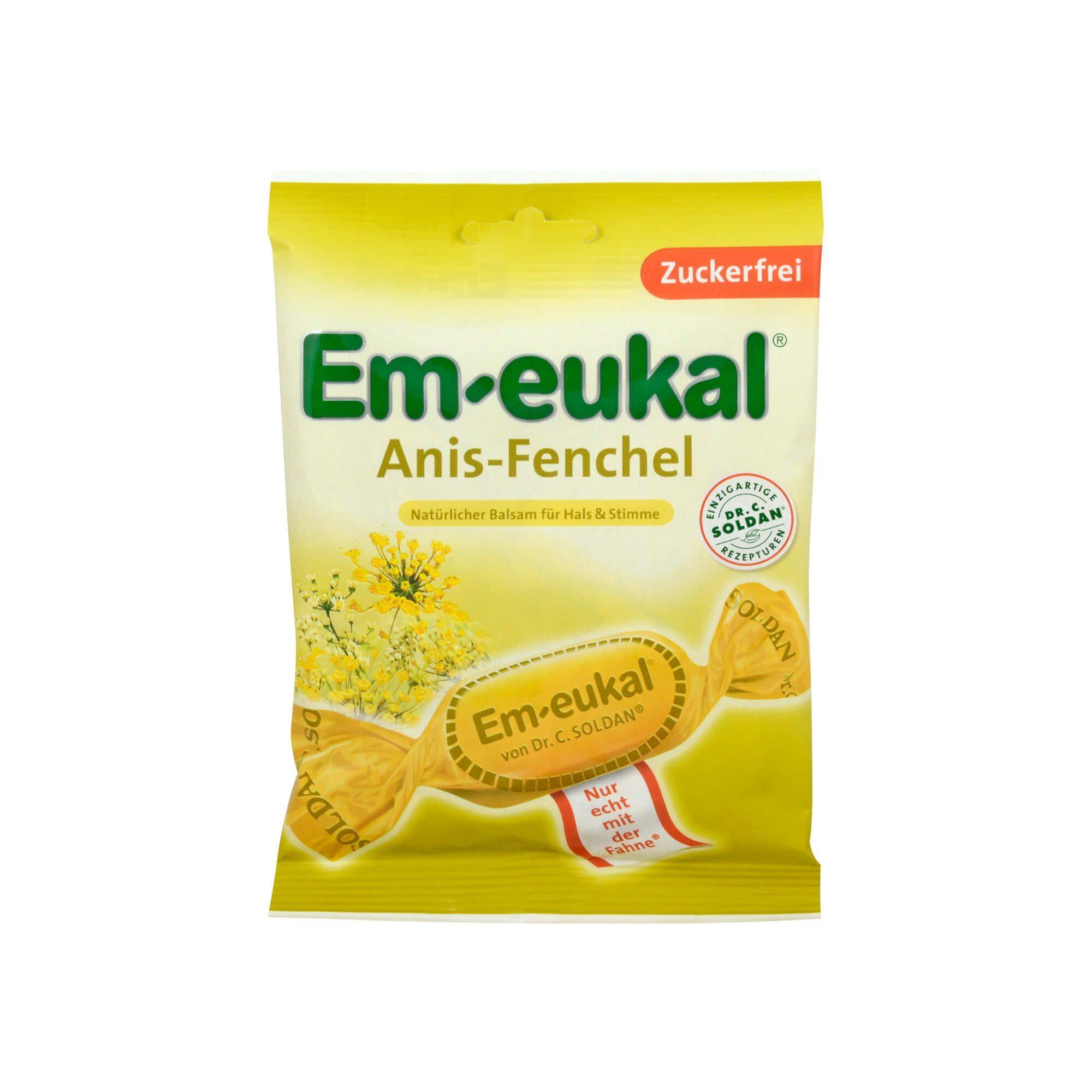 Em Eukal Anis Fenchel zuckerfrei , 75 g