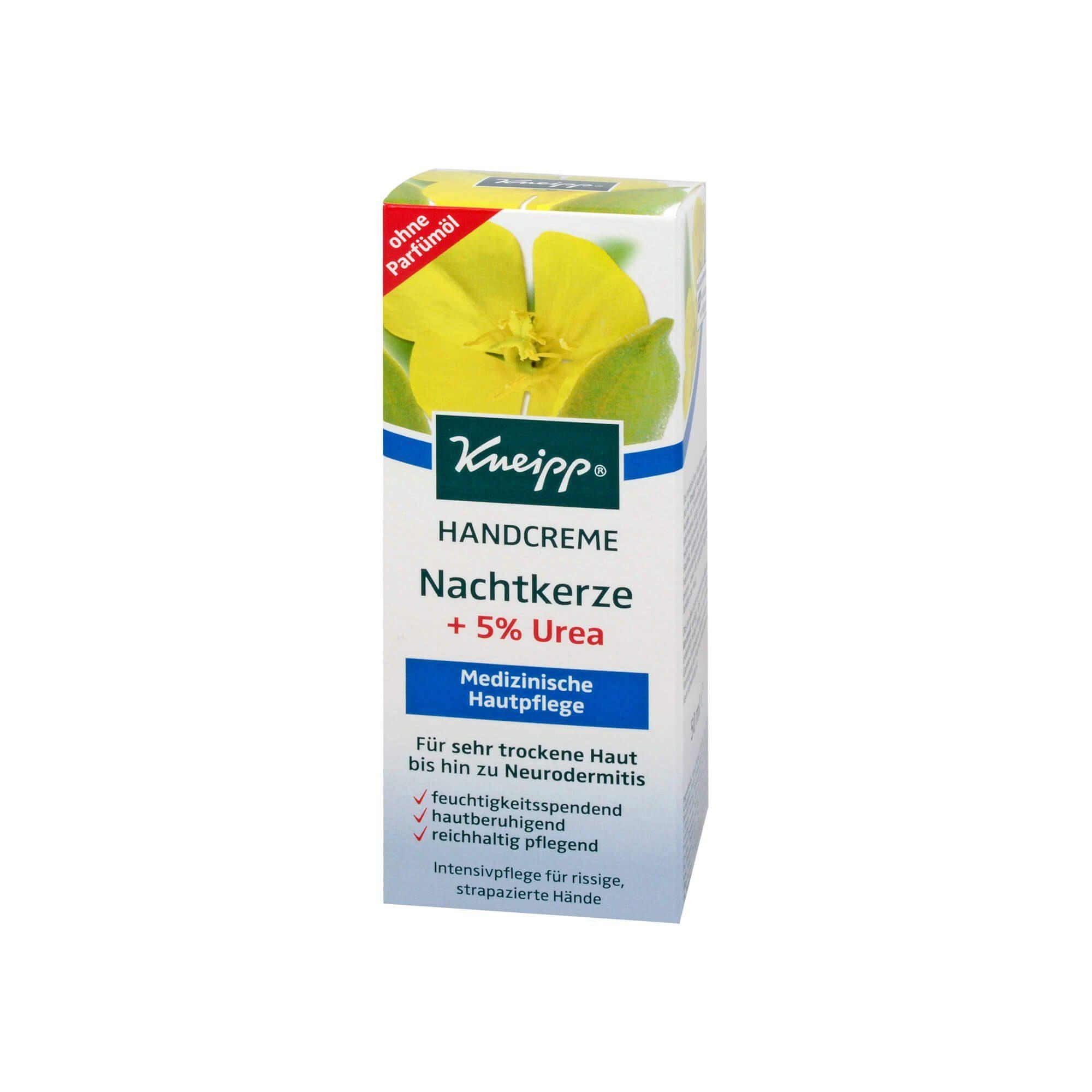 Kneipp Handcreme Nachtkerze+5% Urea , 50 ml