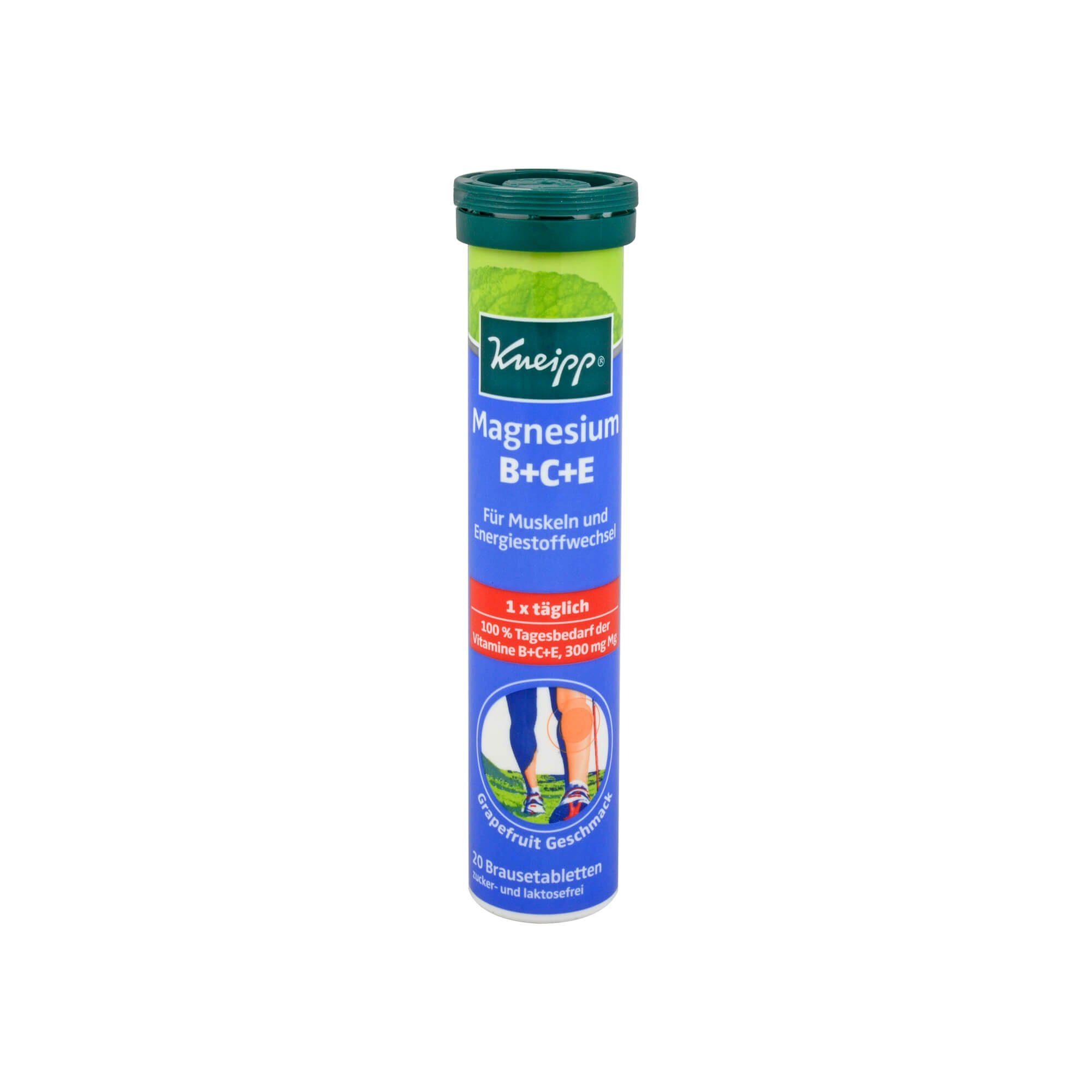 Kneipp Magnesium + Vitamine B+C+E , 20 St