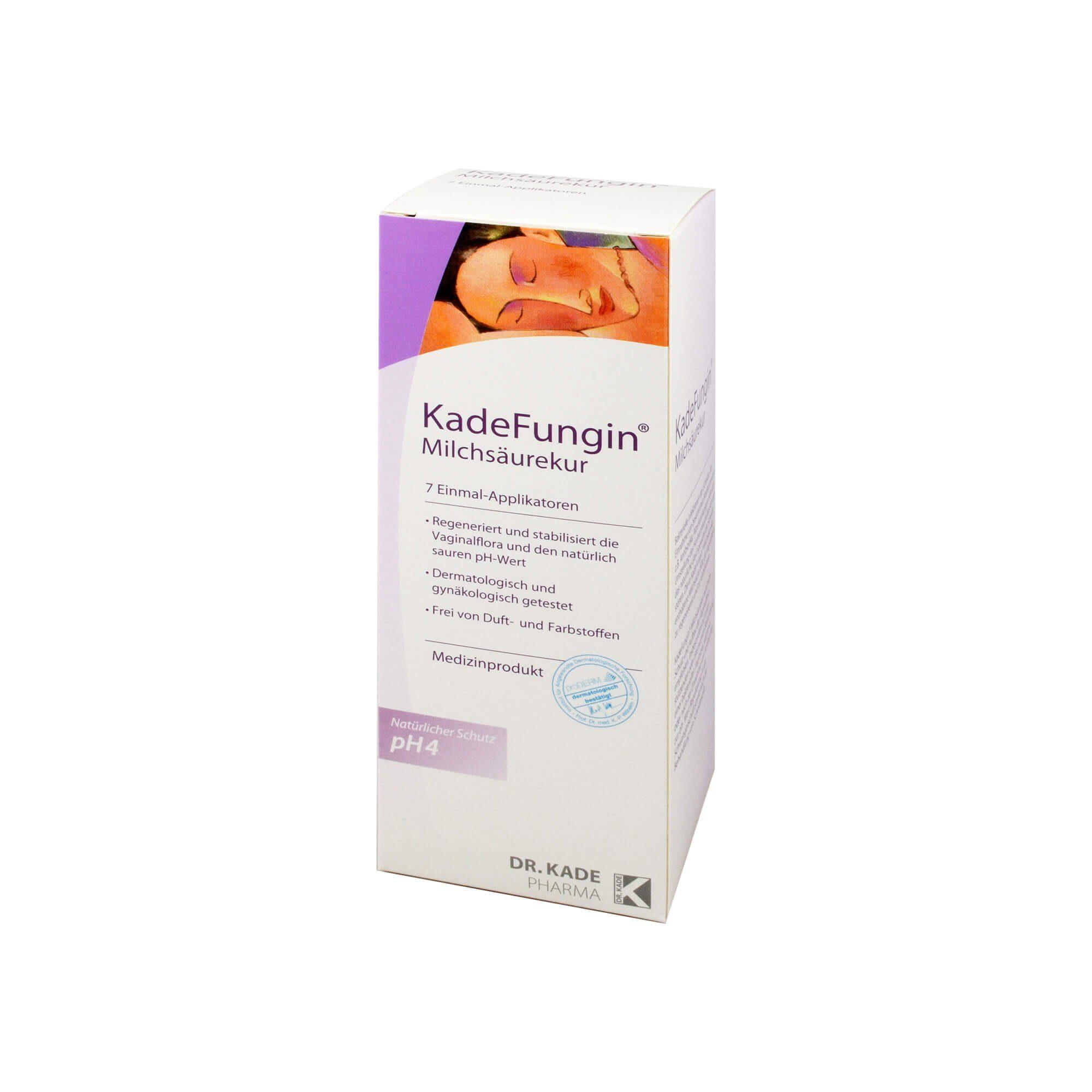 Kadefungin Milchsäurekur Gel Einmalapplikatoren, 7X2.5 g
