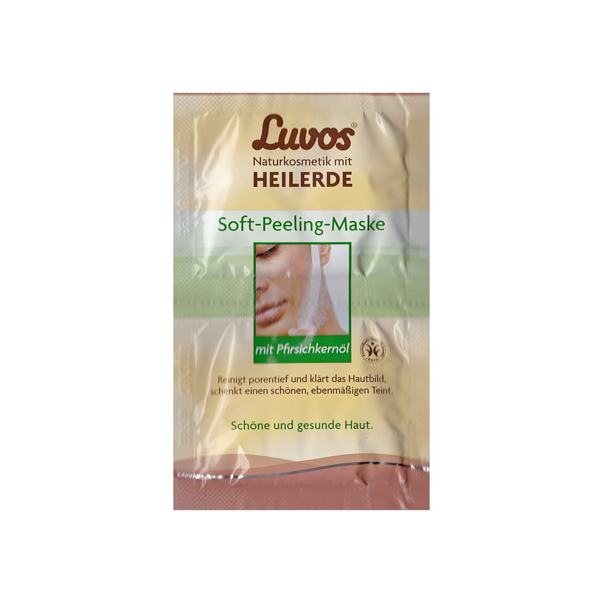 Luvos Crememaske Soft Peeling , 2X7.5 ml