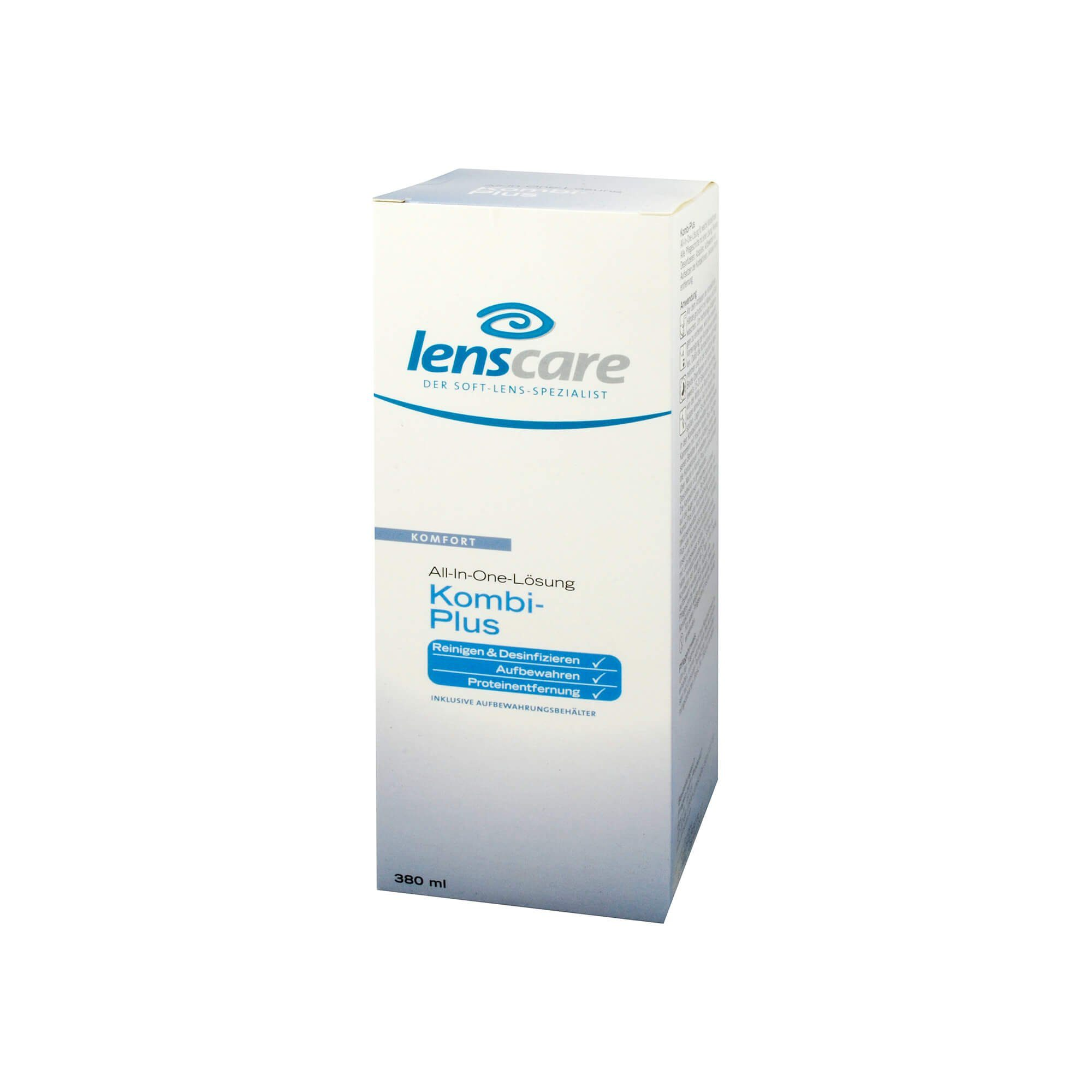 Lenscare Kombi Plus Lösung, 380 ml