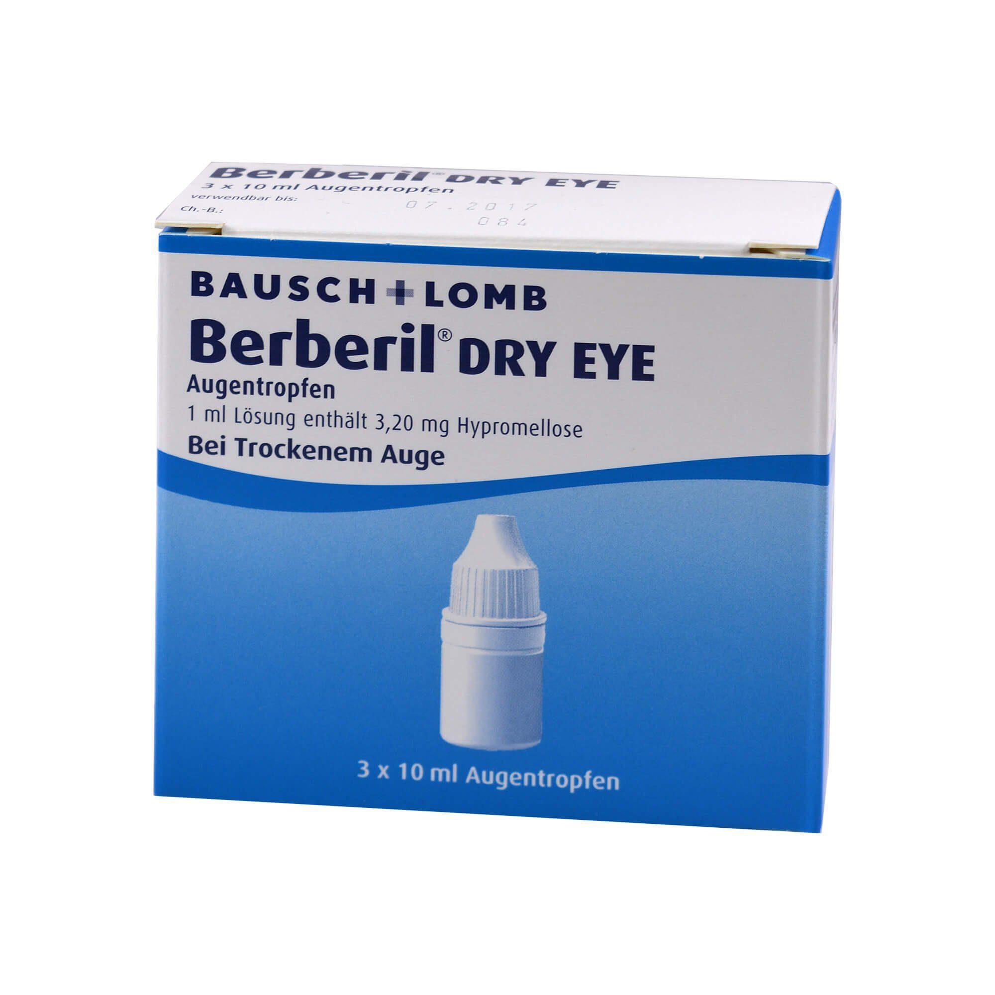 Berberil Berberil Dry Eye , 3X10 ml