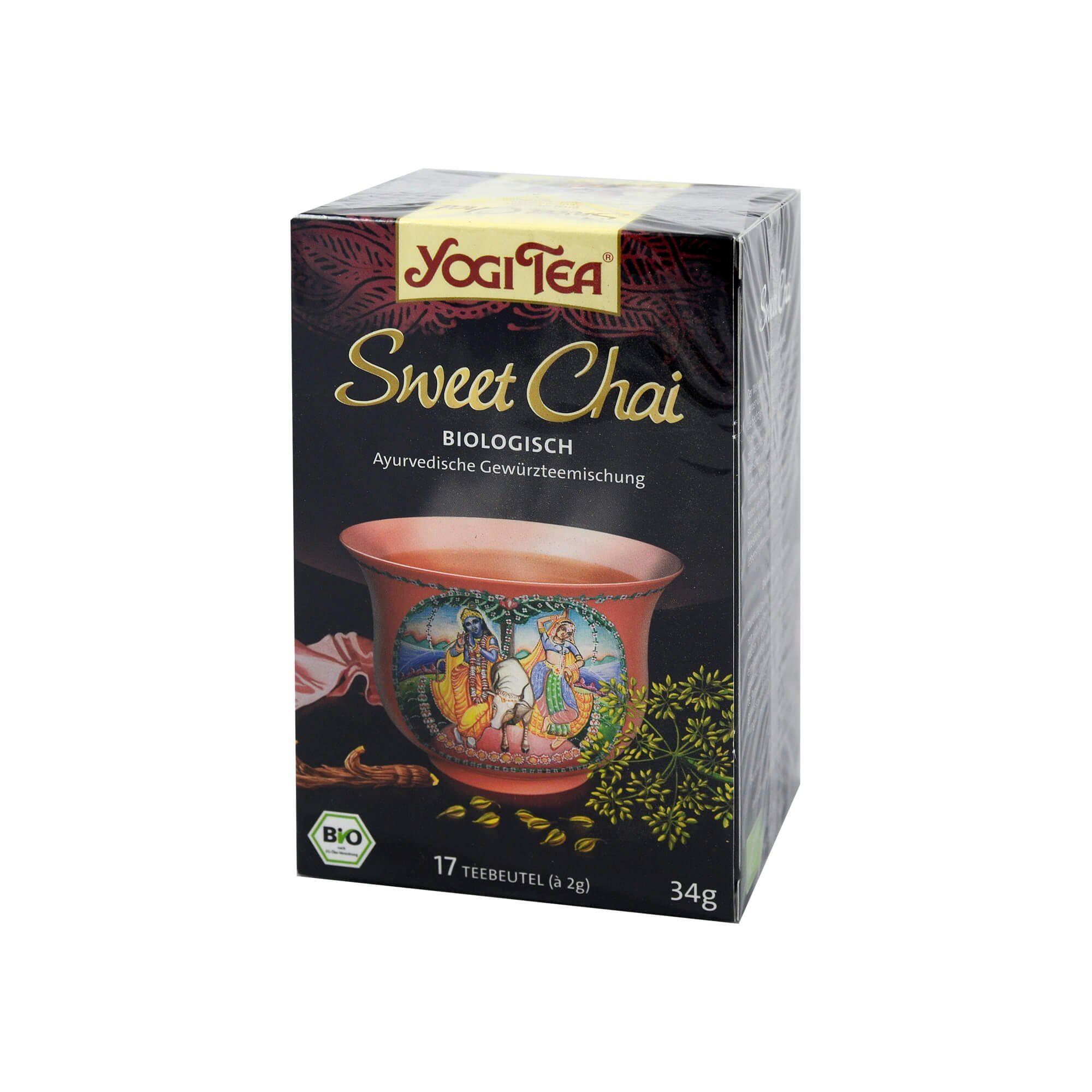 Yogi TEA Sweet Chai Bio, 17X2 g