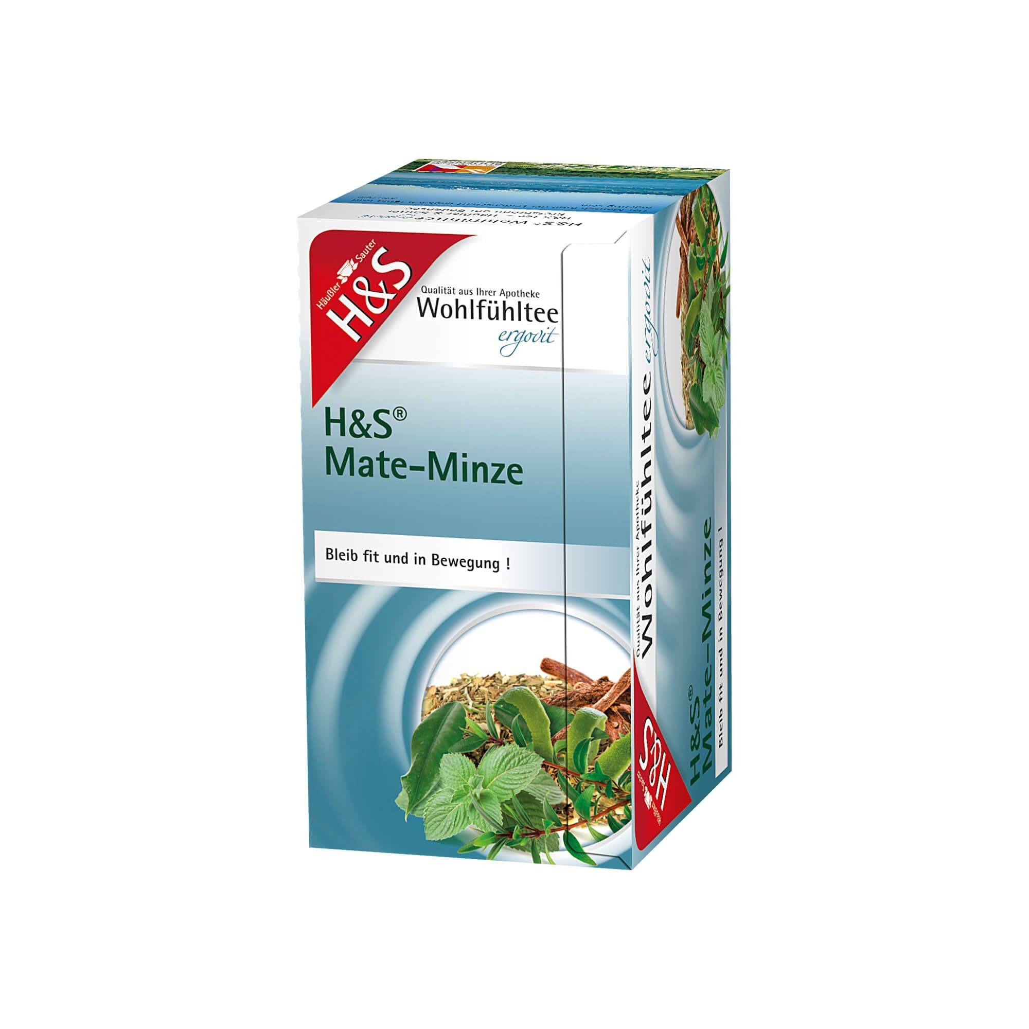 H&S Mate-Minze Filterbeutel , 20 St