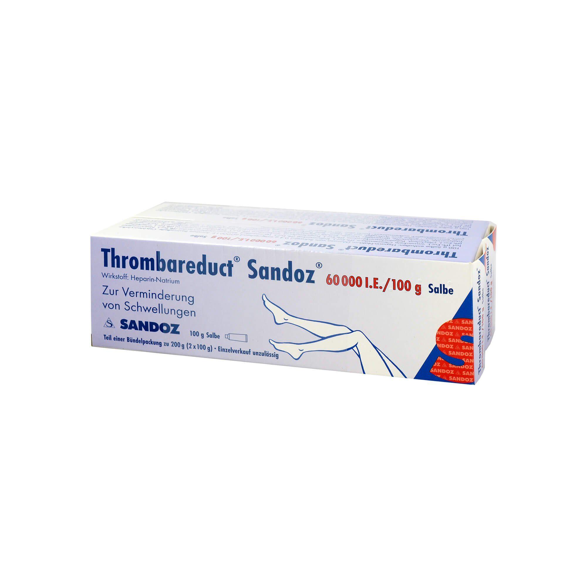 Thrombareduct Sandoz 60. 000 I.E. Salbe , 200 g