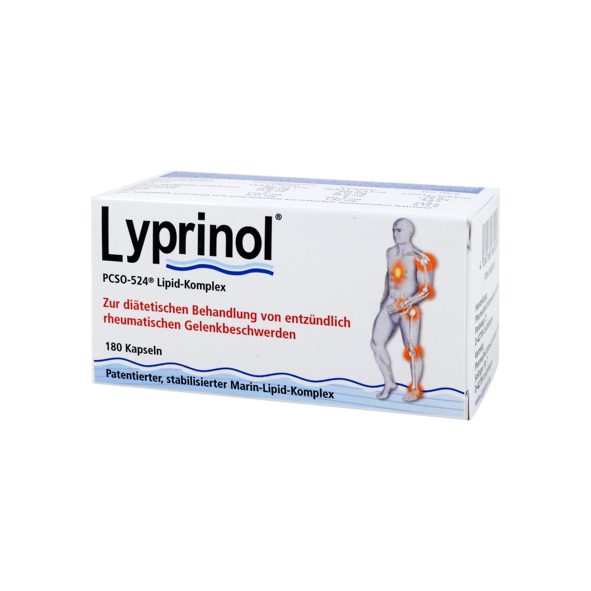 Lyprinol Kapseln, 180 St