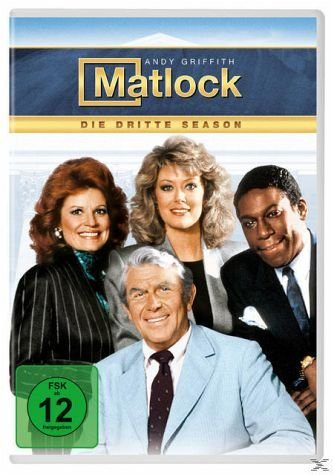 DVD »Matlock – Season 3 DVD-Box«