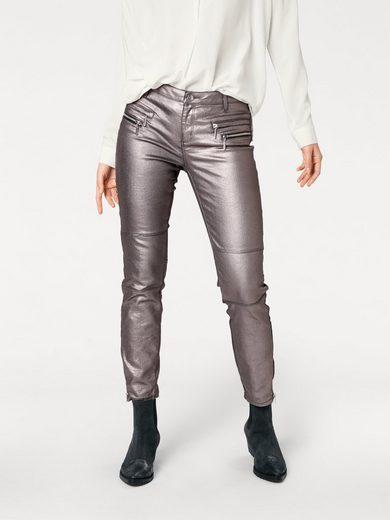Rick Cardona By Heine Biker Jeans With Zipper At The Hem