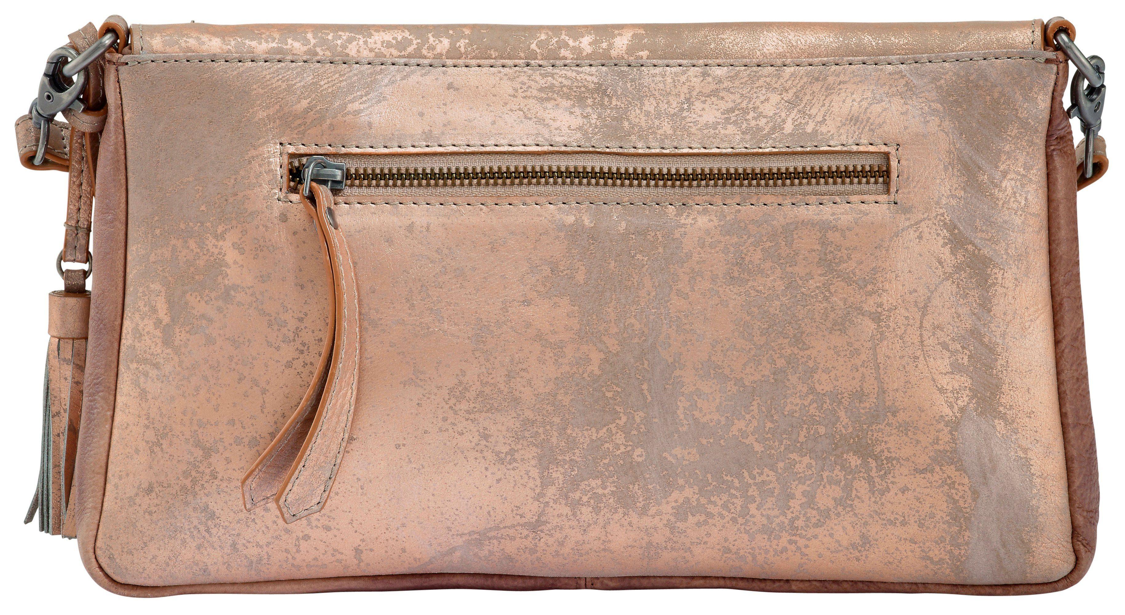Frankie's Heritage Tasche mit Metallic-Finish