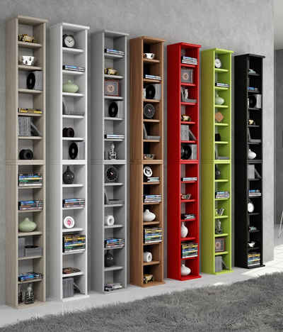 cd regal vertikal bestseller shop f r m bel und einrichtungen. Black Bedroom Furniture Sets. Home Design Ideas