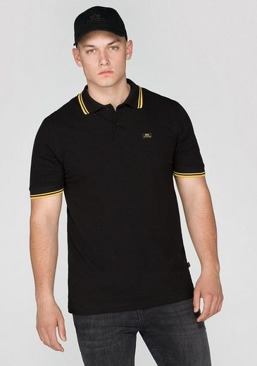 ALPHA INDUSTRIES Poloshirts (kurzarm) Twin Stripe Polo II