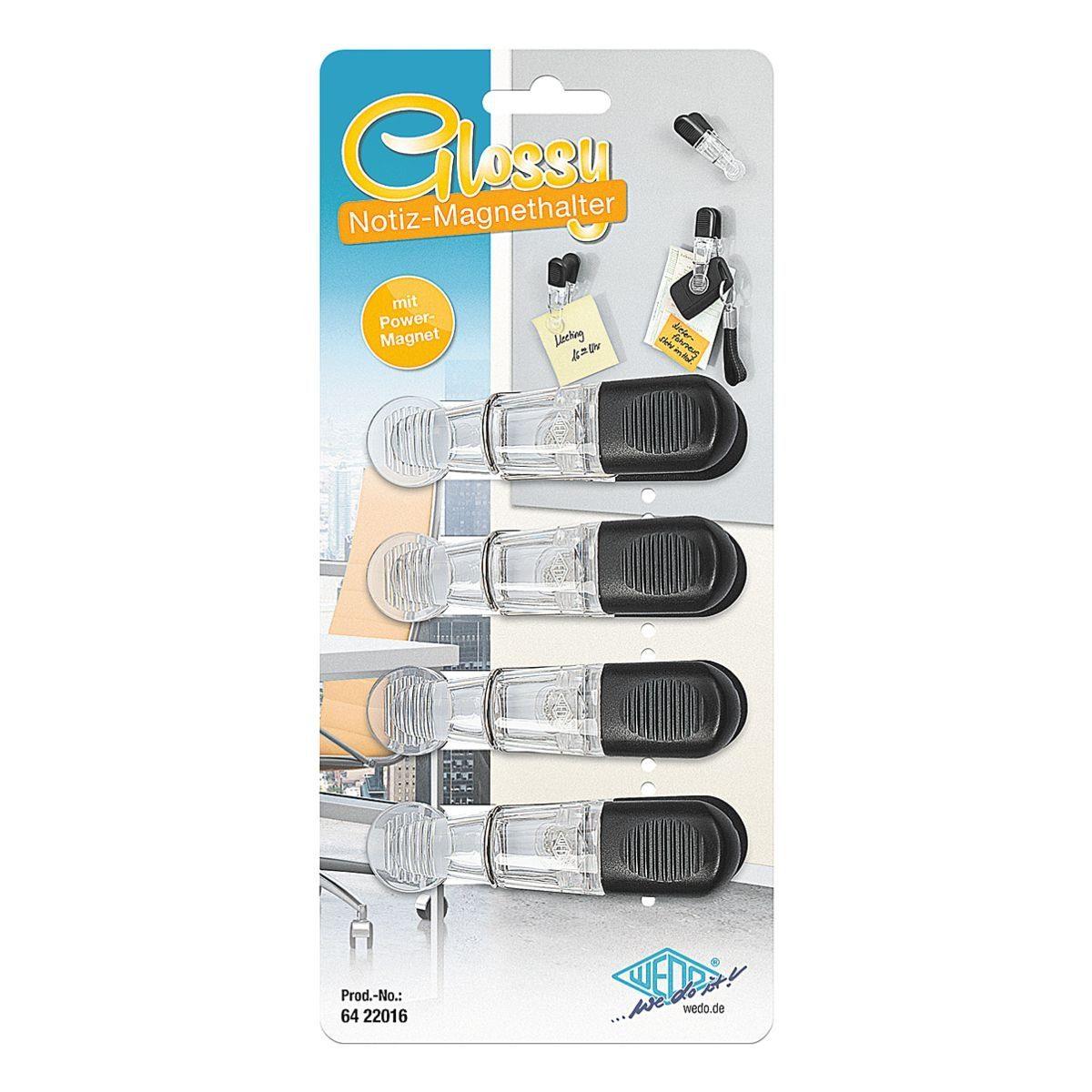 WEDO Notizmagnethalter-Set »Glossy«