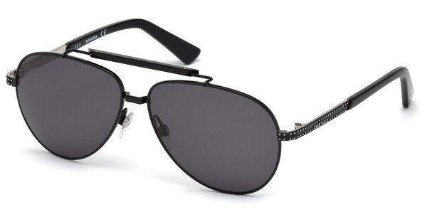 Diesel Herren Sonnenbrille » DL0238«, schwarz, 01A - schwarz/grau