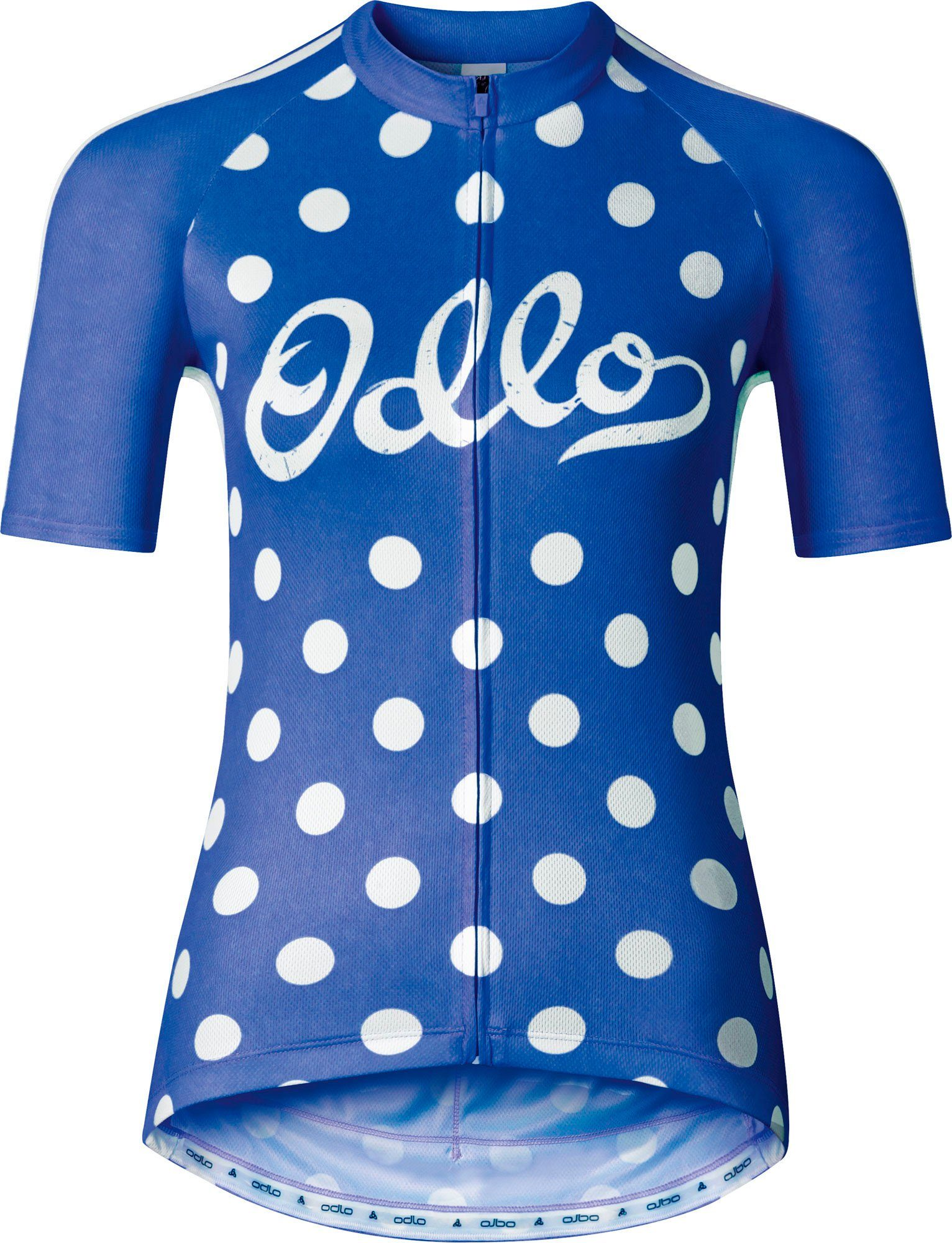 Odlo Radtrikot »Ride Stand-Up Collar S/S Full Zip Women«