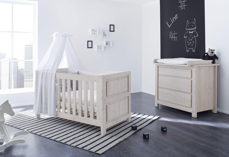 pinolino babyzimmer set (2-tlg) sparset »line« breit online kaufen