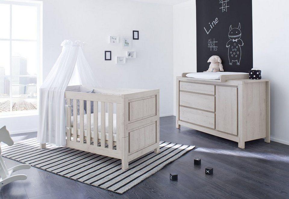Pinolino Babyzimmer Set 2 Tlg Sparset Line Extrabreit Online