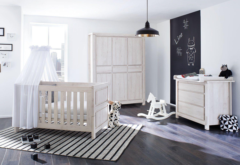 Pinolino Babyzimmer Set (3-tlg) Kinderzimmer »Line« breit groß