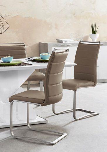 MCA furniture Freischwinger »Pescara« 2er-Set, Stuhl belastbar bis 120 Kg