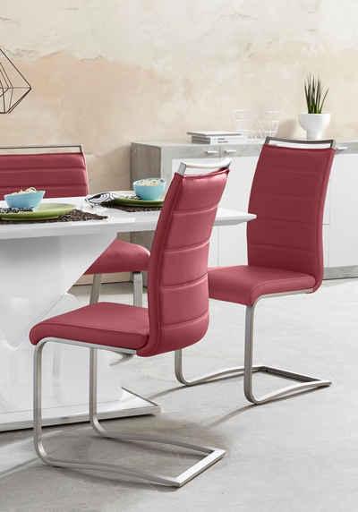 MCA furniture Freischwinger »Pescara« (Set, 2 Stück), Stuhl belastbar bis 120 Kg