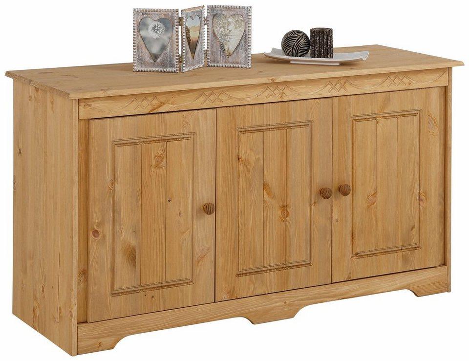 sideboard sofia breite 128 cm online kaufen otto. Black Bedroom Furniture Sets. Home Design Ideas
