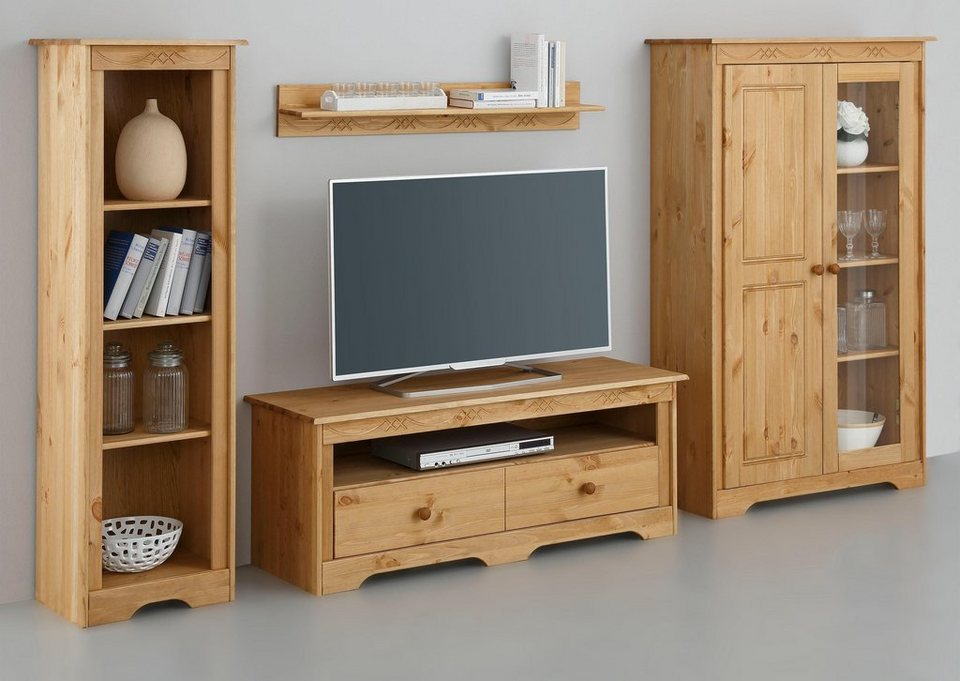 wohnwand 4tlg sofia breite 255 cm kaufen otto. Black Bedroom Furniture Sets. Home Design Ideas