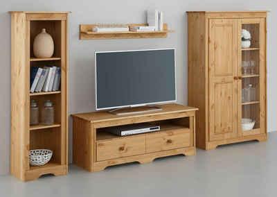 Wohnwand holz  Massivholz Wohnwand kaufen » Holz & Holzoptik | OTTO