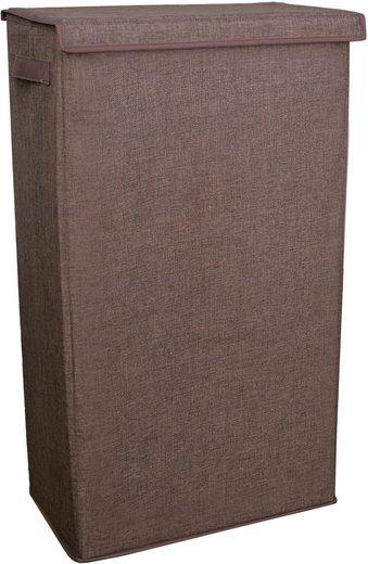 Franz Müller Flechtwaren Wäschebox (1 Stück), faltbar, Höhe 74 cm