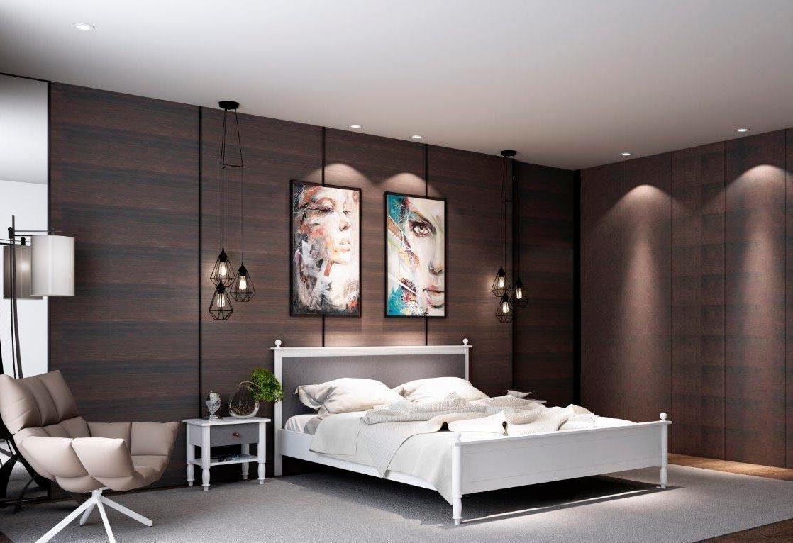 Home affaire Bett »Stella«, mit stoffbezogenen Elementen in 2 Farben und 2 Breiten