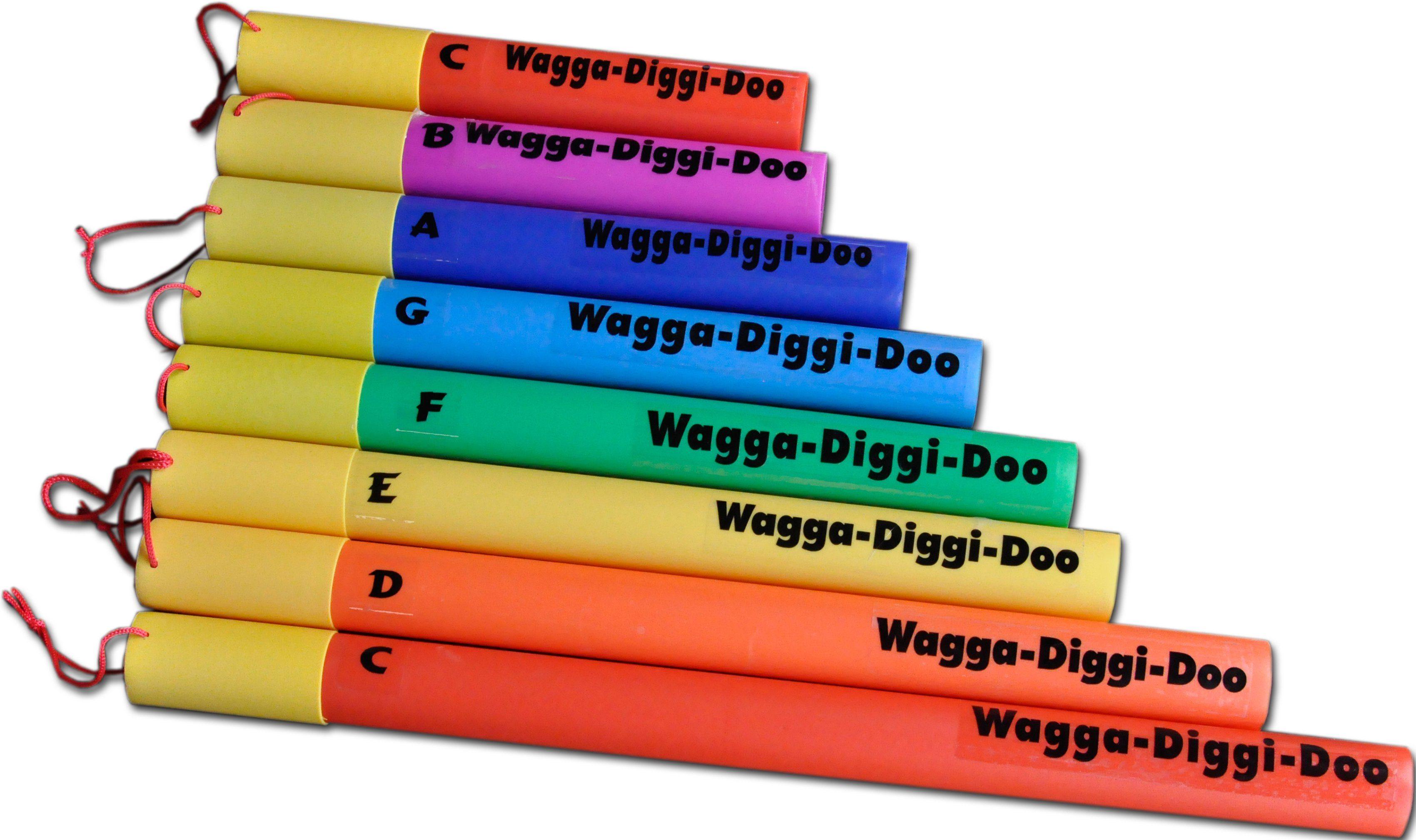 Clifton Klangröhren C-Dur diatonische Tonleiter, »Wagga Diggi Doos«