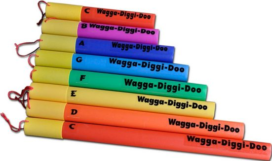 Clifton Klangröhren »Wagga Diggi Doos«, C-Dur diatonische Tonleiter