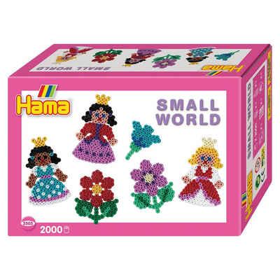 Hama Perlen HAMA 3505 Kleine Welt Blume & Prinzessin, 2.000 midi-Perlen Sale Angebote Briesen