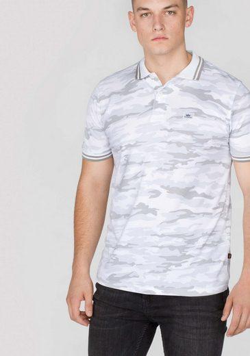 Alpha Industries Poloshirts (kurzarm) Twin Stripe Camo Polo