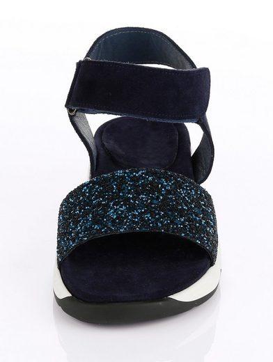 Alba Moda Sandalette mit Klettverschluss