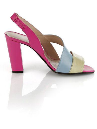 Alba Moda Sandalette im Farbenmix