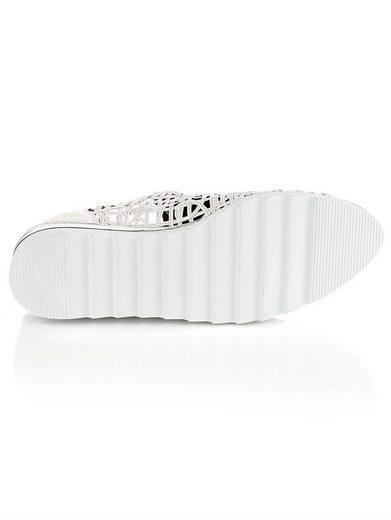 Alba Moda Schnürschuh in luftig leichtem Style