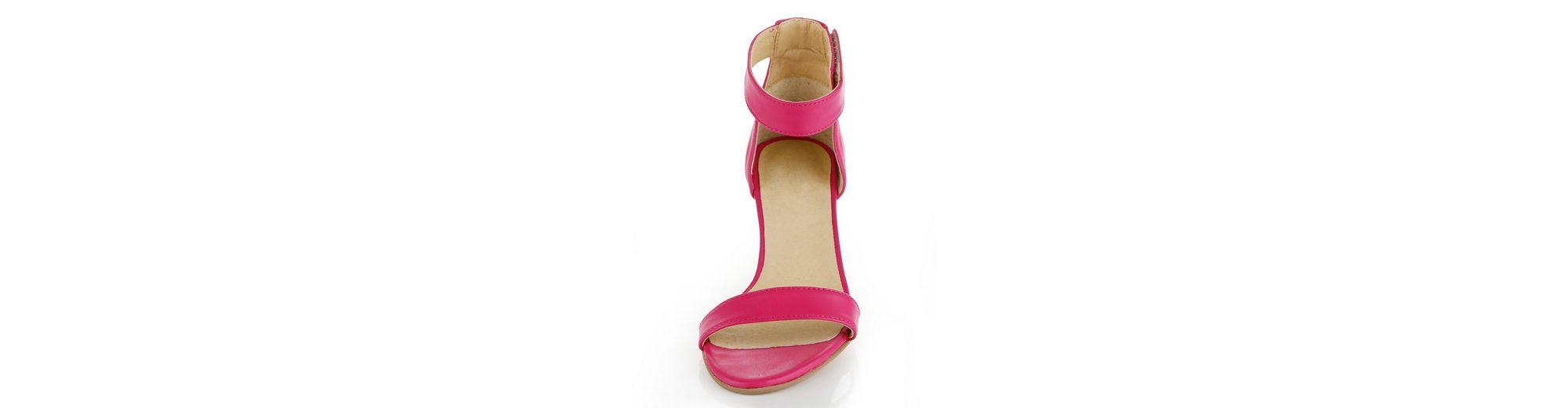 Alba Moda Sandalette mit Pfennigabsatz Zu Verkaufen Authentische Online Kaufen Rabatt Angebote Großer Verkauf 2018 Online nj4Dyu2o