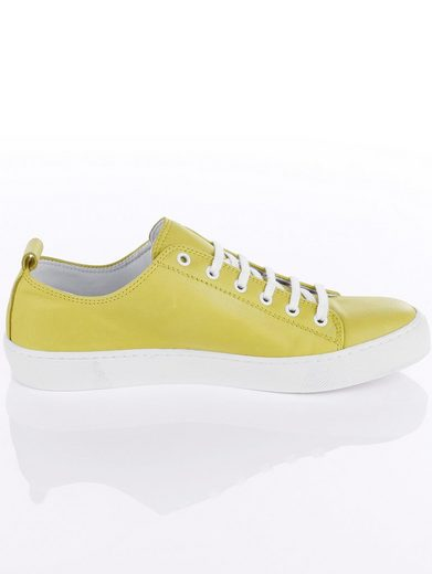 Alba Moda Sneaker Made Of Glove-soft Cowhide