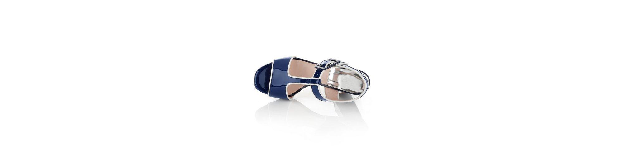 Mit Paypal Alba Moda Sandalette aus Lackleder Auslass Hohe Qualität LjapbL