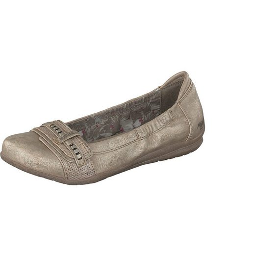 Mustang Shoes Ballerina With Decorative Belt