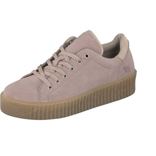 Mustang Shoes Sneaker With Nubuck