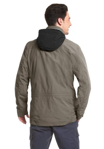 Maier Sports Funktionsjacke Clifden Parka M, Volle Funktion im urbanen Look