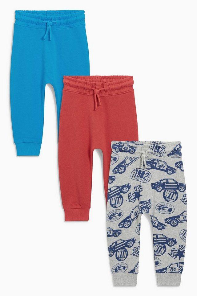 next sporthose rot blau mit durchgehendem auto motiv 3er pack 3 teilig online kaufen otto. Black Bedroom Furniture Sets. Home Design Ideas