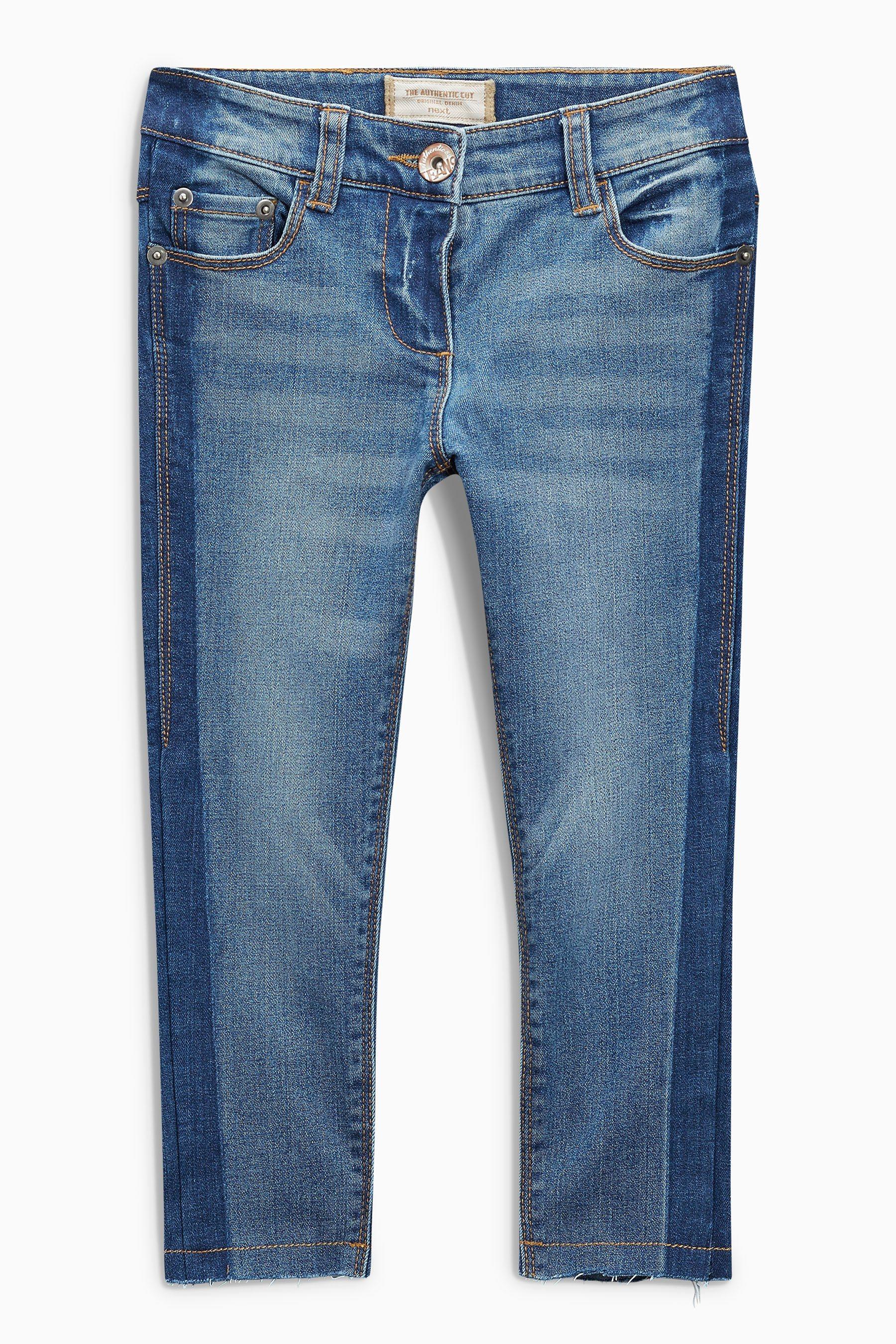 Next Jeans mit Seitenstreifen von OTTO - Ihr Online-Shop - Teil in black - Schwarz für 34,00€