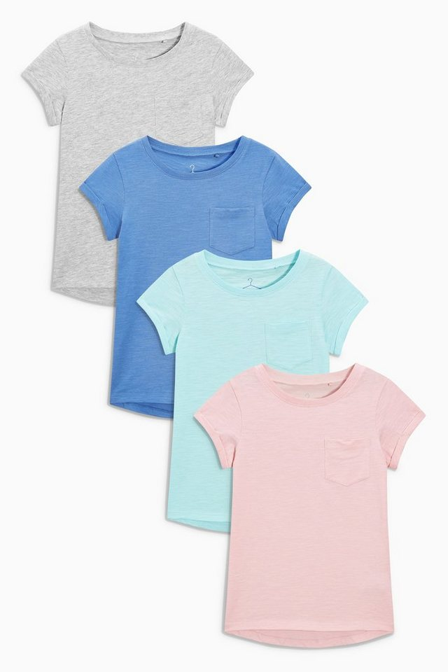 next t shirts in pink grau und blau 4er pack 4 teilig online kaufen otto. Black Bedroom Furniture Sets. Home Design Ideas
