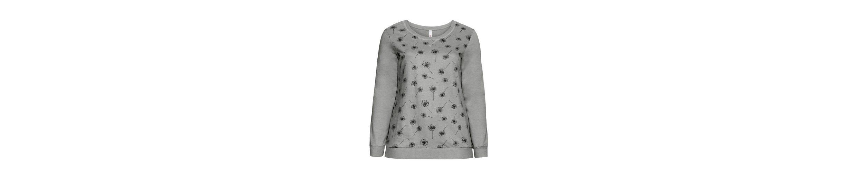 sheego Casual Sweatshirt, mit floralem Alloverdruck