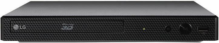 LG BP556 3D Blu-ray-Player, 3D-fähig, 1080p (Full HD), WLAN