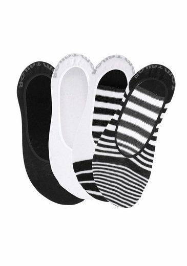 Tom Tailor Open Footsies (4 Pair)